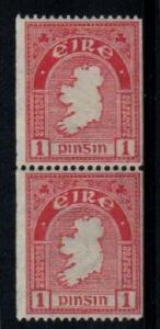 Ireland Scott 87 Mint NH pair (Catalog Value $115.00)