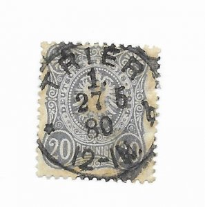 Germany #32 Used - Stamp - CAT VALUE $1.50