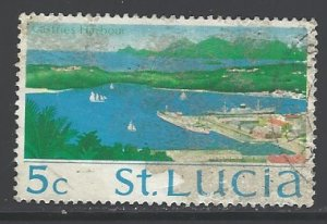 St. Lucia Sc # 264 used (RS)