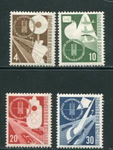 Germany #698-701 Mint VF NH