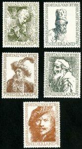 Netherlands Stamps # B291-5 MLH VF Scott Value $41.50