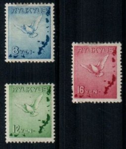 Ryukyu Scott C1-3 Mint hinged [TE227]