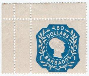 (I.B) Barbados Revenue : Duty Stamp $4.80