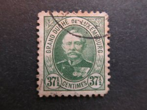 A4P26F24 Letzebuerg Luxembourg 1891-93 37 1/2c used