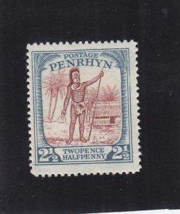 Penrhyn Island: Sc #31, MH, No Gum (36254)