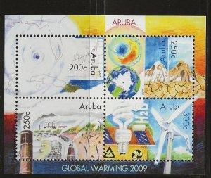 ARUBA  SC #   347  MNH
