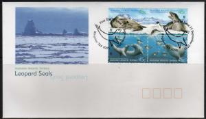 Seals - AAT #L118-a-d  -  FDC