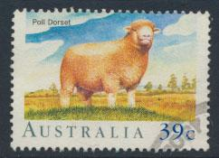 SG 1196  SC# 1137 Used  - Sheep in Australia
