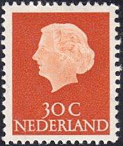 Netherlands # 349 mnh ~ 30¢ Queen Juliana