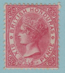 BRITISH HONDURAS 6 MINT HINGED OG * NO FAULTS EXTRA FINE !