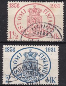 Finland Scott# 182-83 - Used