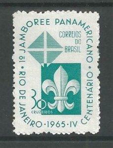 1965 Brazil Scouts Pan-American Jamboree