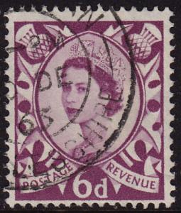 GB Scotland - 1958 - Scott #3 - used