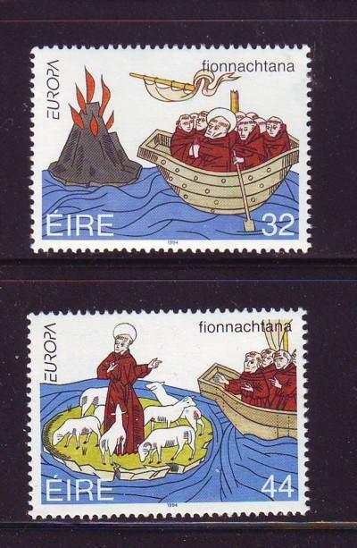 Ireland Sc 923-4 1994 St Brendan Europa stamps mint NH