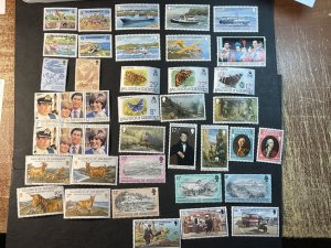 GUERNSEY # 204-239-MINT NEVER/HINGED--10 COMPLETE SETS--1980-82
