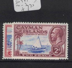 Cayman Islands SG 98, 100 MOG (5dto)