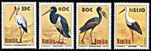 Namibia 766-769, MNH, Storks in Etosha National Park