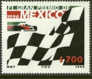 MEXICO 1652, Formula 1 Grand Prix (1990). F-VF MINT, NH.