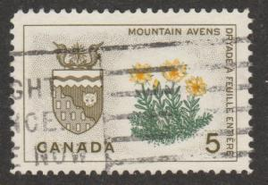 Provincial Flowers and Crests #429