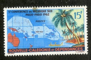 NEW CALEDONIA 321 MNH SCV $3.00 BIN $1.75 MAP