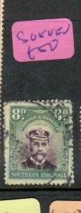 SOUTHERN RHODESIA (PP1005B)  KGV  8D    SG 8     VFU