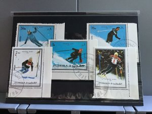 Fujeira Pro-Winter Olympic 1976  stamps R26124