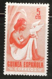 SPANISH Guinea Scott 326 MH* from 1953 set