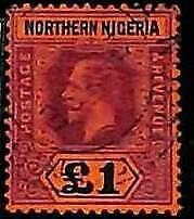 94885e -  NORTHEN NIGERIA  - STAMPS - SG # 52 -  Very Fine USED
