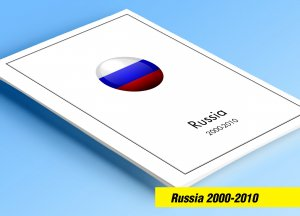 COLOR PRINTED RUSSIA 2000-2010 STAMP ALBUM PAGES (193 illustrated pages)