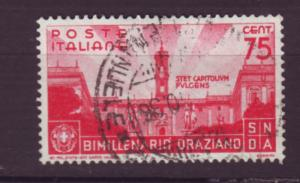 J20340 jlstamps 1936 italy part of set used #363 capitol