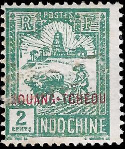 France-Kouang Tcheou 1927 YT 78 mh vg-f