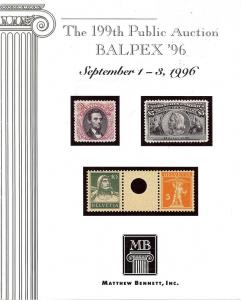199th Public Auction - Balpex '96, Bennett 199