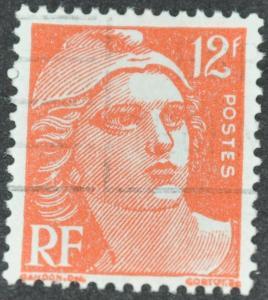 France Stamp Scott #652 – USED