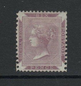 Sierra Leone, Sc 1a (SG 1), MHR
