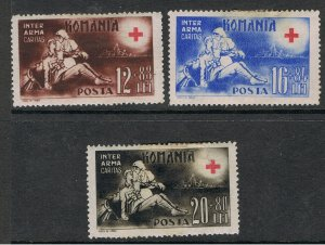 ROMANIA 1943 SURTAX FOR THE RED CROSS