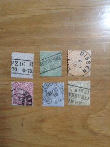Germany  (North German Conf) SC #13-18  Used