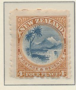 New Zealand Stamp Scott #90, Mint Hinged, Light Gum - Free U.S. Shipping, Fre...