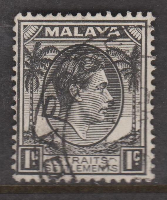 Straits Settlements Sc#238 Used