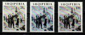 Albania Scott 853-5 Mint NH (Catalog Value $22.50)