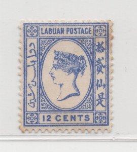 Malaya Labuan - 1894 - SG55 - 12c - MH #676