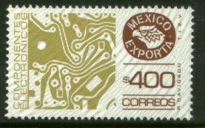 MEXICO Exporta 1137 $400P Circuit board Fosfo Paper 7 MINT, NH. VF.
