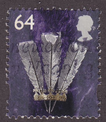 Great Britain (Wales & Monmouthshire) 16 Prince of Wales Feathers 2000