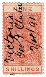 (I.B) New Zealand Revenue : Stamp Duty 9/-