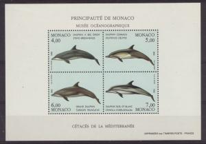 1992 Monaco Dolphins MS U/Mint SGMS2081