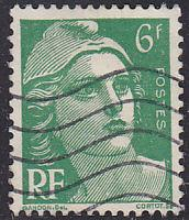 France 651 Hinged Used 1951 Marianne