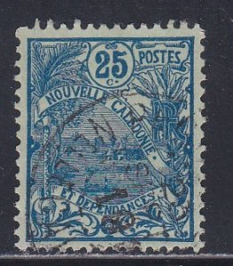 New Caledonia # 98, Landscape, Used, 1/3 Cat.