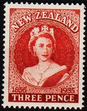 New Zealand. 1955 3d S.G.740 Mounted Mint