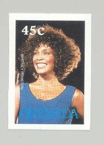 Grenada #1675 Whitney Houston, Music 1v Imperf Proof