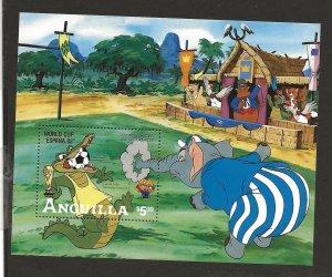 ANGUILLA SC# 501   VF/MNH
