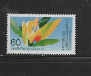 GERMANY #1391  1983 4TH INT'L HORTICULTUAL SHOW    MINT  VF NH  O.G